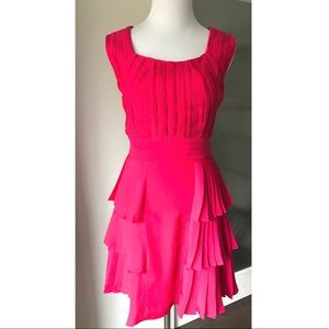 Reiss dress with pleated details